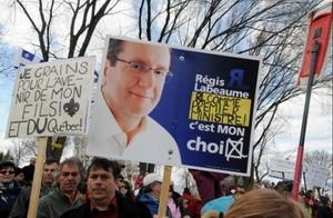 Le maire Labeaume se pavane 20 octobre 2010