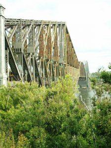 pont de québec rouillé