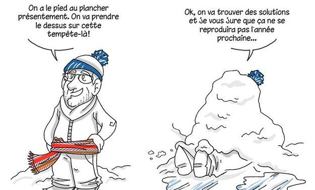 Cafouillage hivernal